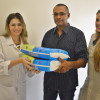 Ceir recebe doação de fraldas e leite