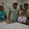 Terapeutas do Ceir confeccionam jogo de xadrez adaptado para paciente