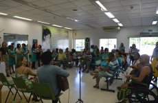 Festa dos pais reúne pacientes, familiares e colaboradores do Ceir