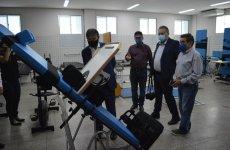 Wellington visita unidade para reabilitação de recuperados da Covid-19