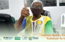 #ReabilitandoVidas ♥️   Francisco Antônio Viana