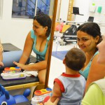 Josiane Morais acompanha cada evolução do filho Heitor